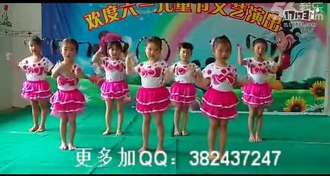 儿童舞蹈 六一幼儿园中班舞蹈 虫儿飞