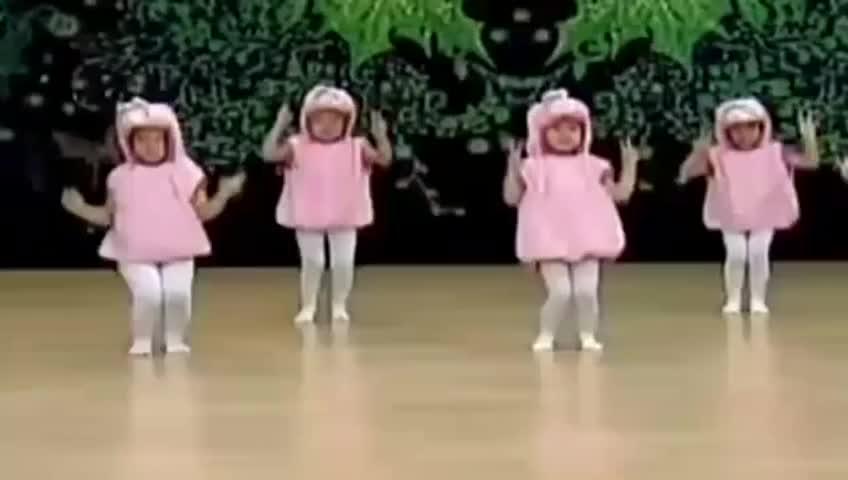 幼儿舞蹈视频兔子舞 儿童