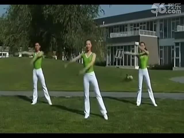 [舞动青春广播体操]中学生广播体操舞动青春 幼儿童体操 有氧健身操