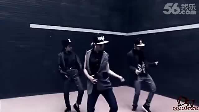 片段 超帅女生版exo咆哮 舞蹈教学视频[高清版]-视频