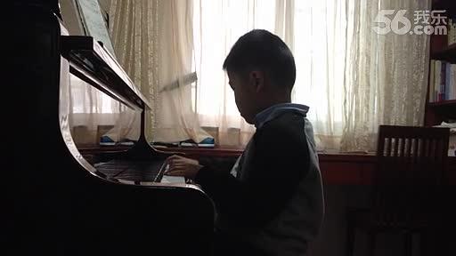 精彩短片 钢琴曲 北风吹-钢琴练习