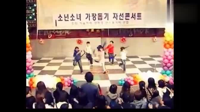 魔法儿童masuri   李弘基跳舞cut
