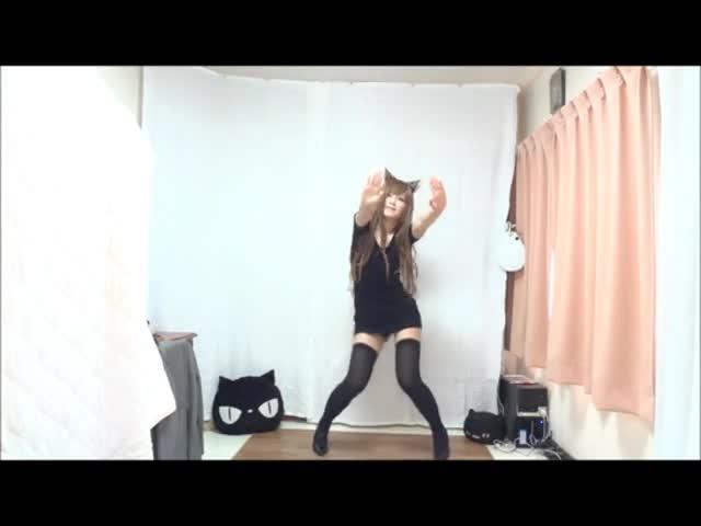 韩国黑丝包臀美女性感热舞2