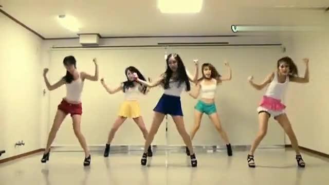 韩国舞蹈教学视频fx 499