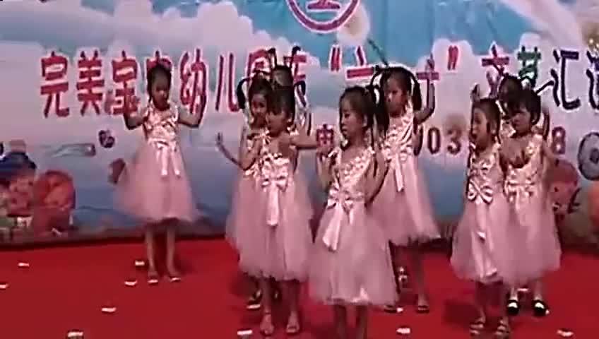 幼儿园舞蹈《最炫民族风》儿童舞蹈教学