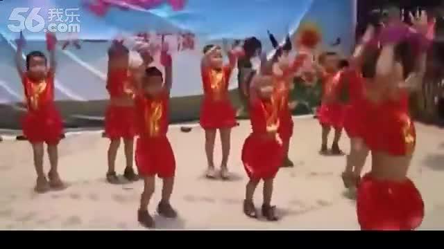 幼儿园儿童舞蹈 加油歌 幼儿舞蹈教学-视频 看点