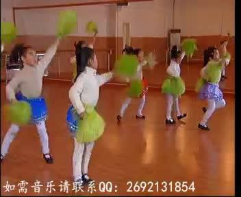 高清热播 简单的幼儿园六一舞蹈 幼儿园元旦舞蹈 小班舞蹈  器械操