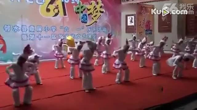 六一儿童舞蹈《大灰狼和小白兔》幼儿舞【幼儿园舞蹈