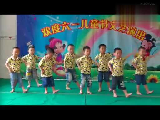 六一儿童舞蹈 幼儿园小班跳舞歌(视唱宝宝网)-com