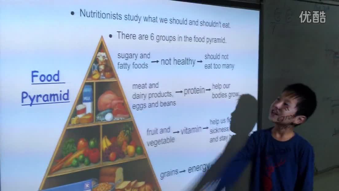 "pyramid食物金字塔解说-""英语"""