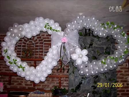 韩国魔术气球教程-玫瑰花