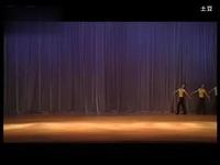 摩登女孩三拍舞步练习 视频
