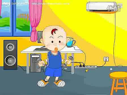幼儿故事 学习教育 安全用电:湿手时不要接触电开