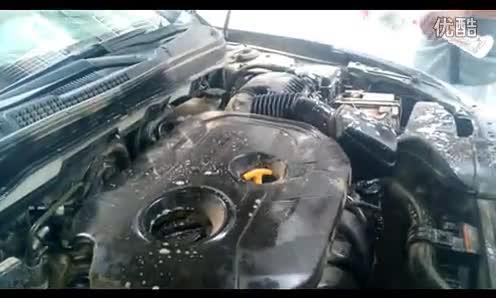 """汽车美容--发动机清洗教学视频-""""移动洗车&quot"""