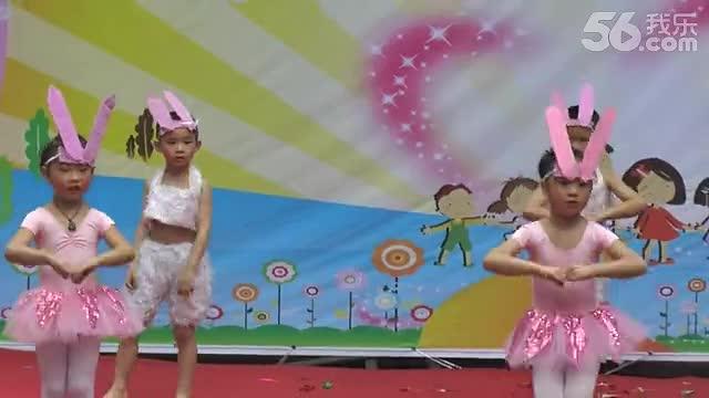 幼儿园表演 乱跳舞蹈 可爱颂 超萌小彤宝 高清