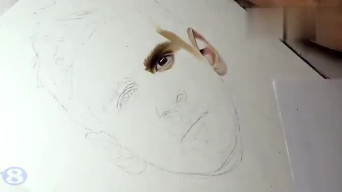 铅笔画出c罗 17173 01:24我的世界张角的收藏 【裸眼3d 铅笔画】.