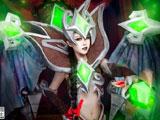 魔兽世界Cosplay:可爱的鲜血女王兰娜瑟尔