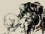 国服玩家原创魔兽世界水墨风格超唯美插画