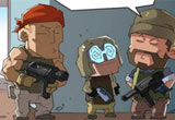 穿越火线搞笑漫画 本期故事带来挠人之术