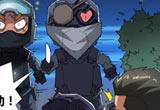 CF搞笑漫画刀锋战士带着灵狐黑夜被打劫