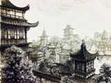 《仙剑奇侠传六》钢笔画——景安