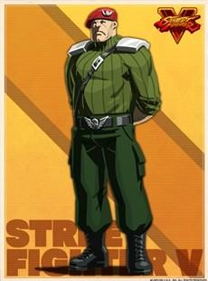 街霸5官方人物图鉴NO.134  Shadaloo中级兵