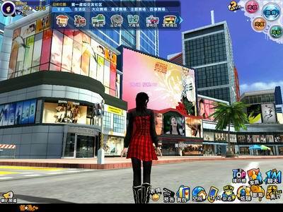 火评:《舞街区》真正的第一虚拟城市图片