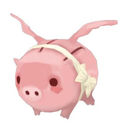 —小飞猪     胖嘟嘟的身材,娇滴滴的模样,煽动着一对可爱的小