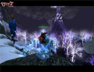 巫妖王之怒-美丽的晶歌森林